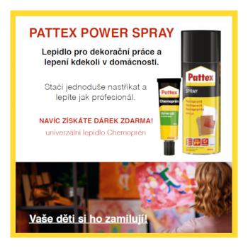 PATTEX POWER SPRAY + DÁREK ZDARMA