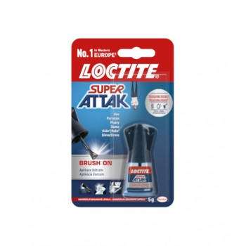 LOCTITE SUPER ATAK BRUSH  5g